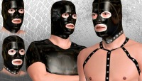 Rubber sex with gays and leather uniforms